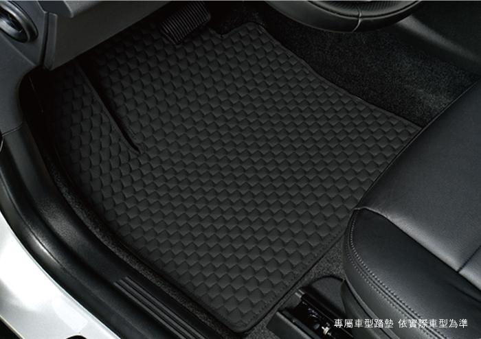 卡固三角紋 平面汽車踏墊[耐磨耐用 . 防水易洗]