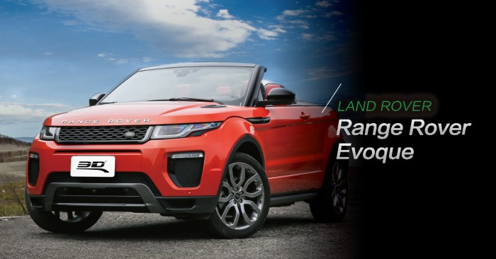 跑車休旅車傻傻分不清?Range Rover Evoque最潮SUV當仁不讓