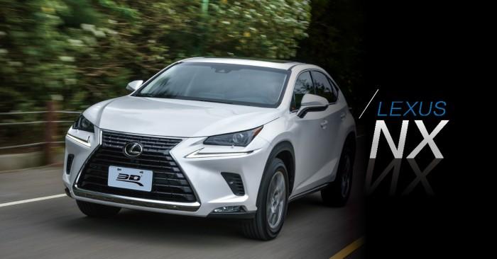 ▍從未來駛來的休旅車!Lexus NX用前衛吸引你