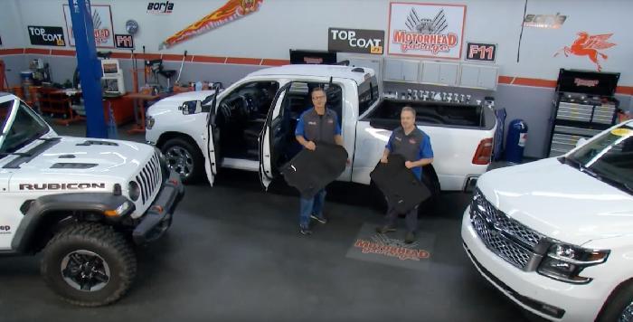 ▍美國節目 Motorhead Garage  推薦3D MATS 太棒合車度