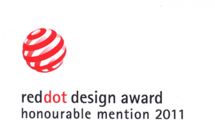 2011年 榮獲 德國 紅點產品設計奬 reddot design award