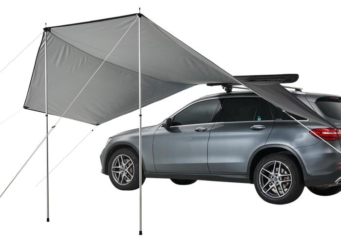 輕量型二用車邊遮陽棚